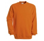 O111010 - B&C•SET IN CREW NECK SWEATSHIRT