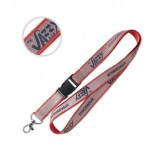 ML1026 - Glitter lanyard with detachable buckle. Min 100 pcs